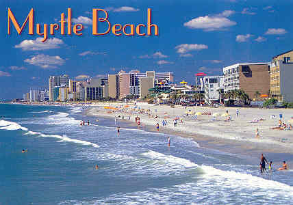 What to pack for Myrtle Beach vacation.